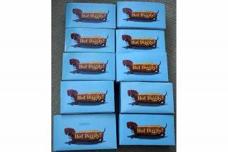 Westland Hot Diggity Dog Collection   Ten dachshund figurines in