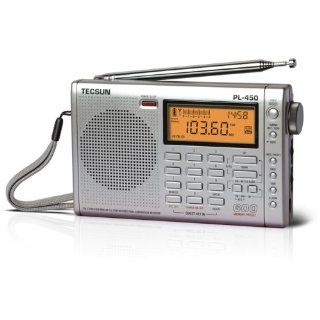 Tecsun PL 450 Dual Conversion AM/FM/LW Shortwave Radio