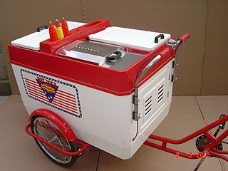 Hot Dog Tricycle Cart Stand