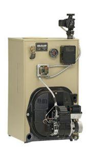 Buderus Logano G125 34 Be 116K BTU Oil Fired Water Boiler w Burner 89