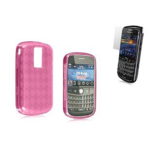 Blackberry Bold 9000 TPU / Gummy Case   with Checker
