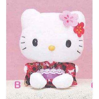 Hello Kitty Kimono Doll Plush Type B 12cm (Genuine product