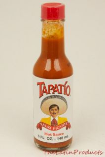 Tapatio Mexican Red Hot Sauce Salsa Picante Mexican Candy 5 FL oz 148