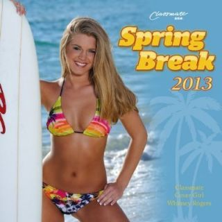 Brand New 2013 Wall Calendar Hot Sexy Girls Spring Break College B43