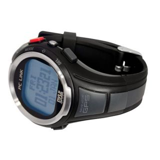 Pyle GPS Heart Rate Monitor Sports Watch W/ Speedometer,Chronograph