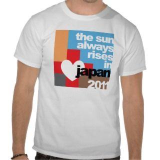 2011 Japan Earthquake Tsunami Relief T Shirt