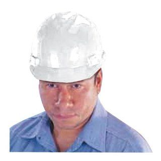 Slotted Hard Hat, For Standard Head Size, White Office