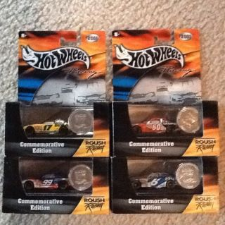 Hot Wheels Racing NASCAR Roush Lot