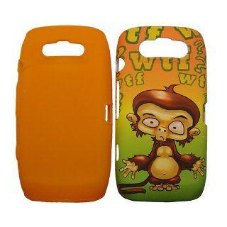 Blackberry Torch 9860 9850 Hybrid Case Confused Wtf Monkey