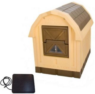 Large Dog House Deluxe Dog Palace Doghouse Floor Heater