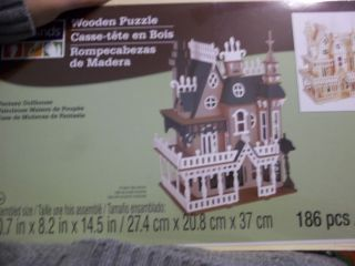 Dollhouse Fantasy Wooden Doll House Kit Easy to Make