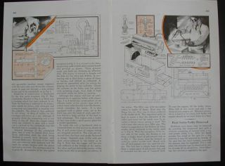 Steam Engine Boiler 1937 How to Plans Build Hi Speed No Casting Needed