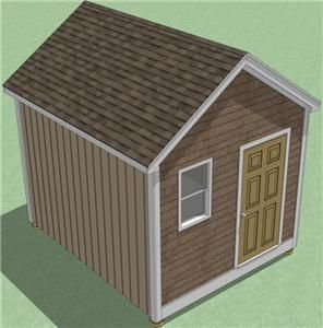 10x12 Shed Plans  How To Build Guide   Step By Step   Garden / Utility