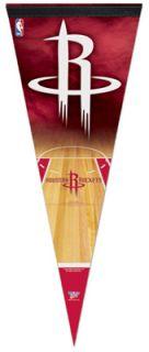 HOUSTON ROCKETS BASKETBALL NBA Team Logo Vertical Premium Felt