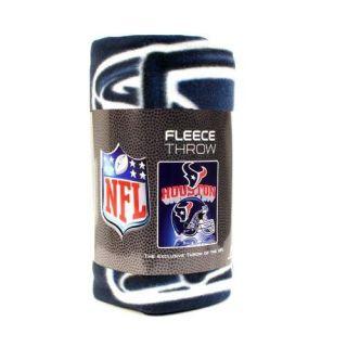Houston Texans 50x60 Fleece Throw Blanket New