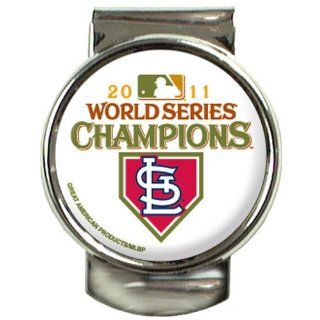 MLB St. Louis Cardinals 2011 World Series Champions Money Clip