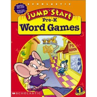 JumpStart Pre K Word Games Workbook: Carol Sumeral Harrison, Duendes