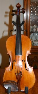 Very Fine Old Full Size German Violin Labeled Peter Schultz