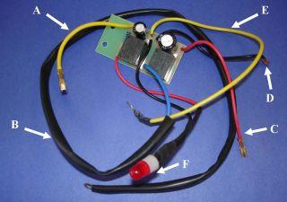 Oil Sensor & Fuel Pump Solenoid Control Board CJX22 J0871 for Diesel