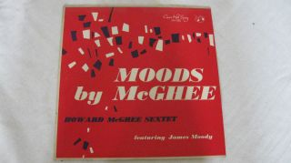 1958 MOODS BY McGHEE HOWARD McGHEE SEXTET 10 LP CONCERT HALLS RECORDS