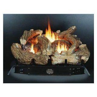 Kozy World GLD2440 Fireplace Log Set, Vent Free, Dual