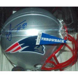 Bethel Johnson (New England Patriots) Football Mini Helmet