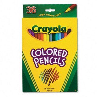 Crayola Presharpened Long Colored Pencils Toys & Games