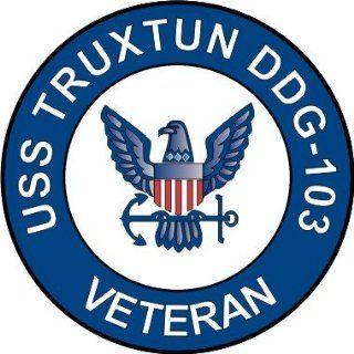 US Navy USS Trustun DDG 103 Ship Veteran Decal Sticker 3.8