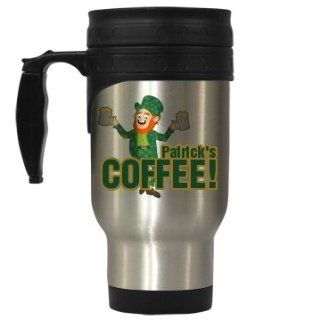 Patricks Irish Coffee Custom 14oz Stainless Steel Travel