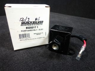 Pump 852521T1 Mercury 2000 2005 210 250 HP Jet Drive Outboards