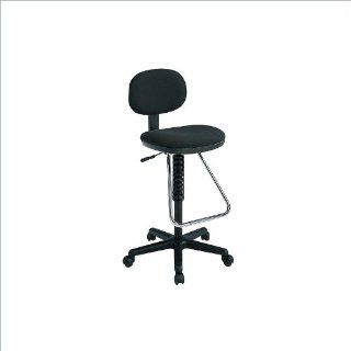 Office Star Economical Chair with Chrome Teardrop Footrest