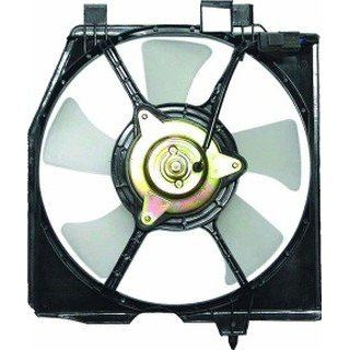 QP M3116 a Mazda Protege Replacement AC A/C Condenser Cooling Fan