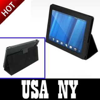 Leather Case Cover Stand for HP Touchpad Touch Pad Tablet PC