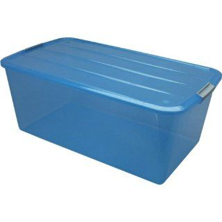 Buckle Up Box 103 QT BCB 95 Trans Blue, 5 pc Set (100633