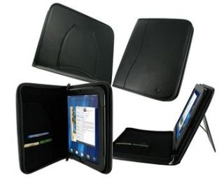 ROOCASE Executive Leather Case for HP TouchPad Tablet   Black