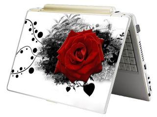 Bundle Monster Laptop Notebook Art Skin Decal Fits HP Dell Asus Red