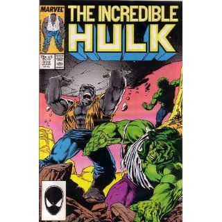 The Incredible Hulk, Vol 1 #332 (Comic Book) MARVEL COMICS