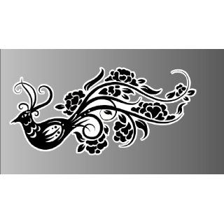 Chinese art   bird 107 Sticker Vinyl Decal 6 wide