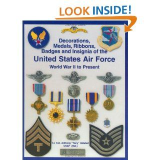 Army Air Force and U.S. Air Force Decorations) Decorations, Medals