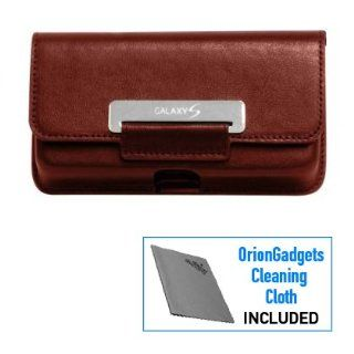 Horizontal Leather Pouch Case (OEM) for Samsung Vibrant