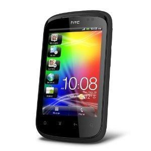 HTC Explorer A310e Android 2 3 Unlocked Cell Phone Black Cell Phone