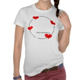 Support Animal Rescue Tshirt