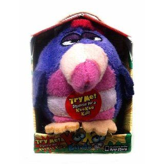KooKoo Birds 2 Inch Flocked Mini Plush #109 Three Toed