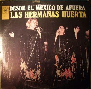 Latin LP Las Hermanas Huerta Desde El Mexico de Afuera 1980 CBS