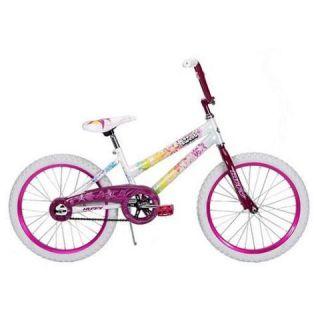 Huffy 20 inch Girls So Sweet Bike Aloha Pearl White Orchid Pink