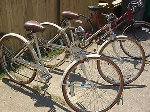 pair vintage huffy 10 speed bike great condition made in dayton ohio