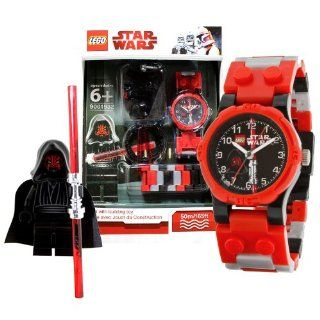 Lego Year 2010 Star Wars Series Watch with Minifigure Set