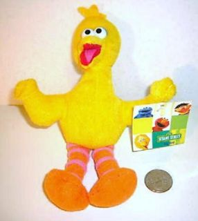 Sesame Street Big Bird Stuffed Plush Doll Toy Muppets