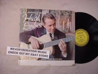 An Evening with Hugh Downs 1959 USA Folk LP News Anchor
