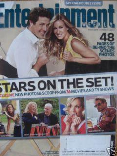 Hugh Grant Sarah Jessica Parker 10 09 EW Mag